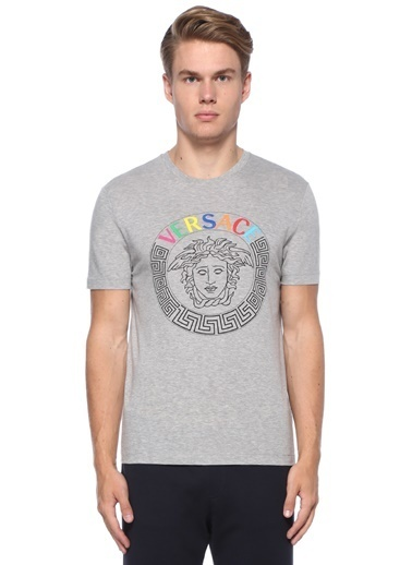 Versace Tişört Gri